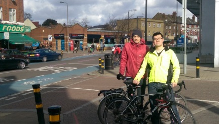 At Upper Tooting Road and Lessingham Avenue, Tooting, the 5th most dangerous junction for cyclists in London